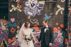 The Graffiti Inspired Wedding: Street Art Chic. Source: ruffled