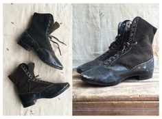 mid-Victorian Balmoral boots