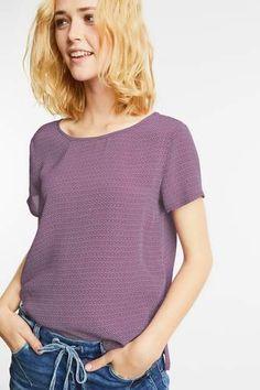 Minimalprint Bluse Raelyn Arm, V Neck, Street, Tops, Women, Fashion, Blouses, Moda, Arms