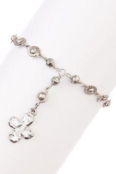 silver cross bracelet <3 #dreadstop