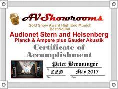AV Showrooms HIGH END Munich 2017 STERN HEISENBERG
