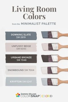 Calming Paint Colors, Best Paint Colors, Room Paint Colors, Interior Paint Colors, Paint Colors For Home, Wall Colors, House Colors, Pallet Painting, Painting Tips