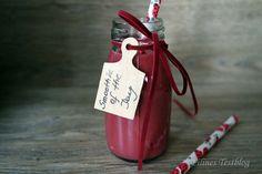 Filines Testblog: Wie man einem Mandelmilch-Smoothie Farbe verpasst ...