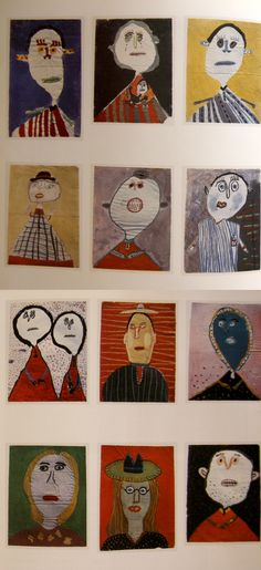 'Children's Drawings from the collection of Jean Dubuffet' - Book, The Innocent Eye by Jonathan Fineberg