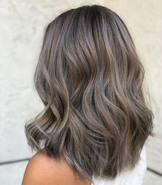 Ash Brown Hair Balayage, Ashy Hair, Ash Brown Hair Color, Gray Hair Highlights, Hair Color Balayage, Brunette Hair, Cool Tone Brown Hair, Dark Ash Blonde Hair, Ash Grey Hair