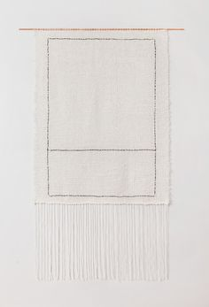 Two Squares weaving by Brook Lyn