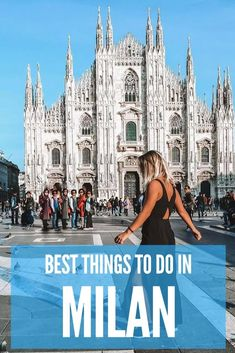 Milan is one of the most popular cities in Italy. Find out the best things to do, places to see and where to eat if you're only visiting Milan for one day. #milan #italy
