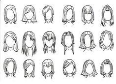 Hair Styles 1 by J-Foxy