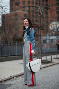2aedea8d8f The Best Street Style Looks From New York Fashion Week Fall 2018