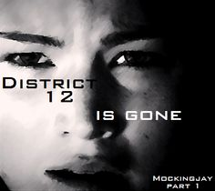 District 12 is gone The Hunger Games Mockingjay Part 1