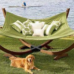 Love the oversized hammock