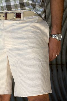 Sewing for MEN - incredible shorts by Train to Crazy!