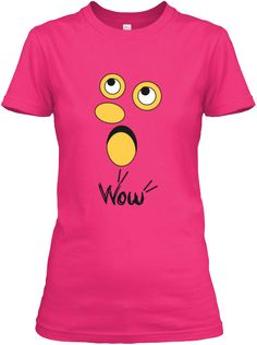 Wow Heliconia T-Shirt Front