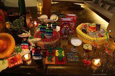 Recebendo os amigos em casa. s2  Jantar Mexicano.
