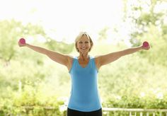 Dumbbells are a convenient and flexible tool in strength training. This program for seniors uses eight exercises for upper and lower body strength and conditioning.