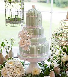 Wedding cakes by Curtis and Co Cakes - Home-baked in Gloucestershire Beautiful I love it