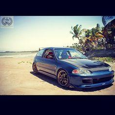.@Honda Tuning | #civic #hatchback from #beautiful #puertorico