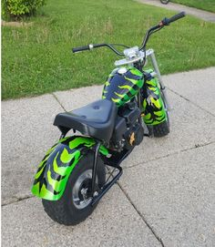 Mini Chopper, Custom Trikes, Big Wheel, Mini Bike, Bike Trails, Motorcycle, Minis, Vehicles, Collection