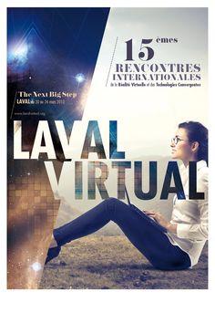 Laval Virtual Poster / V85