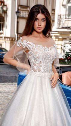 Fairy Wedding Dress, Stunning Wedding Dresses, Classic Wedding Dress, Bridal Wedding Dresses, Designer Wedding Dresses, Lace Wedding, Baby Dress Design, The Dress, Dream Dress