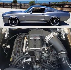 Would y'all rather have this RoushCharged Shelby or the twin turbo from . - Coolness Color Photos Would y'all rather have this RoushCharged Shelby o Mustang Fox, 1967 Mustang, Mustang Cars, Ford Mustang, Shelby Mustang, Ford Shelby, Maserati Quattroporte, Pontiac Bonneville, Mustang Fastback
