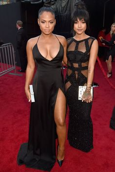 Karreuche Tran and Christina Milian