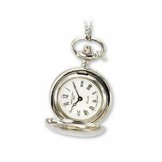 Ladies Charles Hubert Polished Chrome Finish Brass Pendant Watch Jewelry Adviser Charles Hubert Watches. $76.64