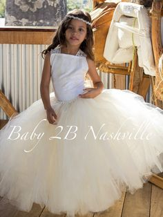Vintage Dress Ivory Dress Cameo Lace Dress Tulle Dress Flower Girl Dress  Wedding Dress Party Dress Baby Dress Toddler Tutu Dress Girls Dres by baby2bnashville. Explore more products on http://baby2bnashville.etsy.com