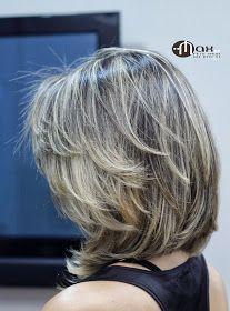 Maxwell mathson: mechas e luzes em cabelos curtos hair styles in 2019 волос Medium Hair Styles, Curly Hair Styles, Natural Hair Styles, Natural Curls, Hair And Beauty, Beauty Style, Fashion Beauty, Super Hair, Layered Haircuts