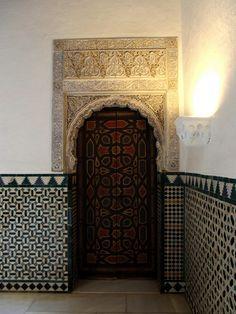 Door, Reales Alcazares, Sevilla