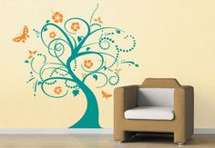 Wall Stickers Flowers and Trees Dream Tree - wall-art.com
