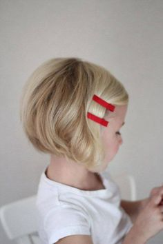 Bob Haircut Idea that is Perfect for Your Little Cutie Pie