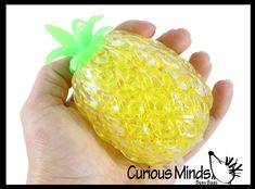 Pineapple Fruit Squeeze Stress Ball Squishy Sensory Fidget
