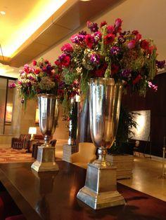 116 best hotel lobby flower images floral arrangement for Hotel lobby decor
