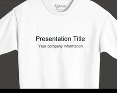 This free T-Shirt PowerPoint template is a free PowerPoint template background that you can use for t-shirt design presentations. This free t-shirt PPT template can also be used for textile presentations or clothes related PowerPoint presentation. The originality of this template with a t-share image as background let you customize PowerPoint presentation with a t-shirt style.