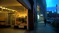 Vaclavska bakery at dawn
