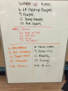 6-9-12-15 for 18 min. Not once but twice. See video of manmaker on Instagram carenwithac29 #carenwithac29 #cleancutfit #cleaneating #crossfit Air Squats, Jump Squats, Hiit, Cardio, Emom Workout, Boot Camp Workout, Circuit Training, Functional Training