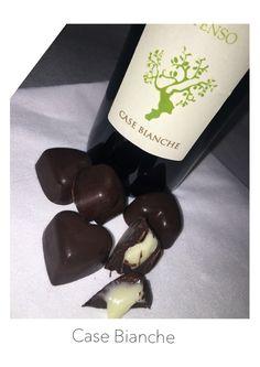 Cioccolatini con cremoso all'Olio Extravergine Case Bianche Intenso......un esplosione di sapore!!!