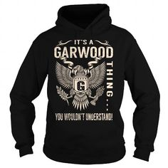 Awesome Tee Its a GARWOOD Thing You Wouldnt Understand - Last Name, Surname T-Shirt (Eagle) T shirts