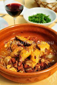 Chicken stew. Portugal
