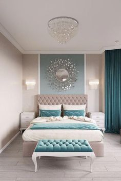11 Modern and Luxurious Bedrooms With Baroque Style #bedroomdecoratingideas