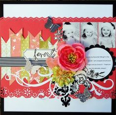 like the use of non-traditional embellishments.such a pretty Christmas layout Disney Scrapbook Pages, Kids Scrapbook, Scrapbook Designs, Scrapbook Page Layouts, Scrapbook Paper Crafts, Scrapbook Albums, Scrapbook Cards, Scrapbook Photos, Scrapbooking Ideas