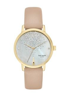 champagne at midnight metro watch - kate spade new york