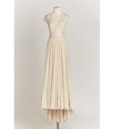 Une robe de mariée couleur poudre   GLAMOUR PARIS