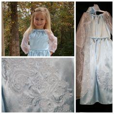Elsa Frozen Disney Princess Dress costume dress up by tootietots