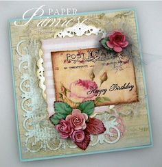 I so LOVE these colors! So beautiful!!    http://www.paperprimrose.com/2012/04/beautiful-roses-challenge/