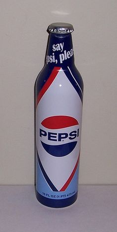 Limited Edition Aluminum Pepsi Bottle #1 by The Upstairs Room, via Flickr