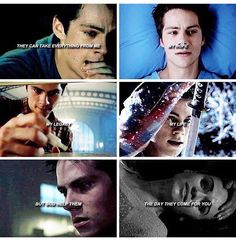 Teen wolf, I love Stiles - even if hes not a awesome werewolf, I can settle for normal.