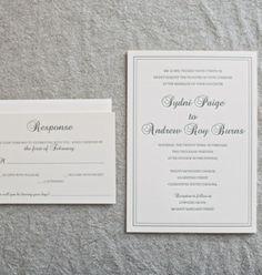 Charleston Wedding Invitation Dodeline Design