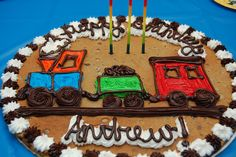 train cookie cake